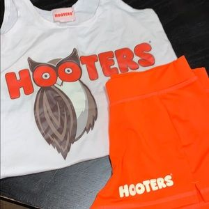 Hooters Halloween Costume Matching Set